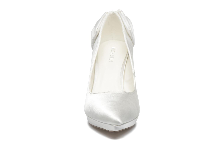 Escarpins Menbur Amina Blanc vue portées chaussures