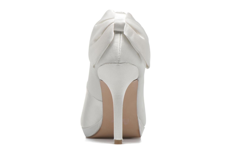 Zapatos de tacón Menbur Amina Blanco vista lateral derecha