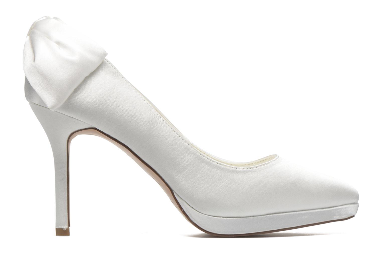 Zapatos de tacón Menbur Amina Blanco vistra trasera