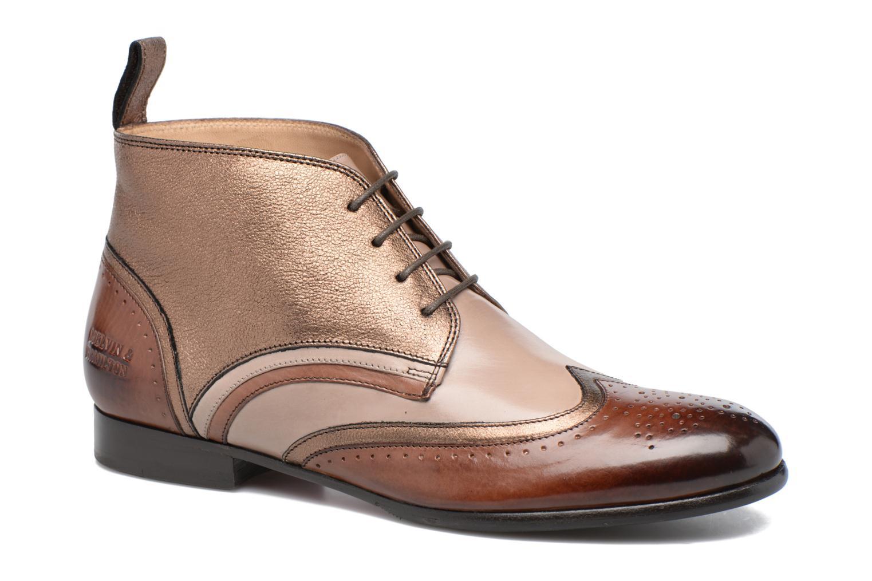 Chaussures à lacets Melvin & Hamilton Sally 30 Or et bronze vue détail/paire