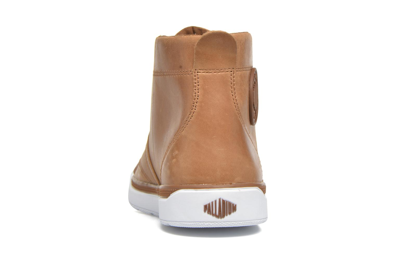 Bottines et boots Palladium Palaru HI Lea F Marron vue droite