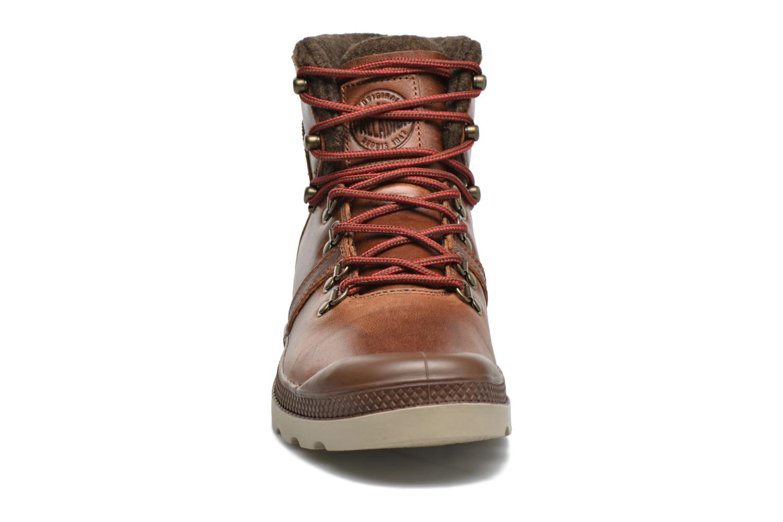 Bottines et boots Palladium Pallab Hikr H Marron vue portées chaussures