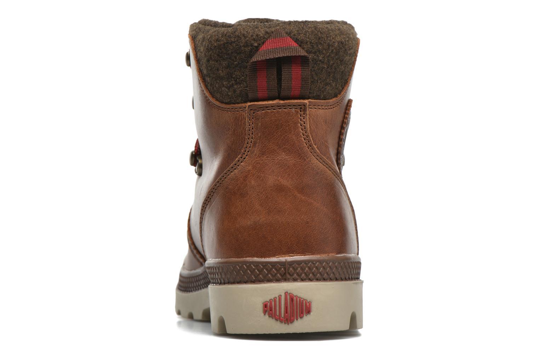 Bottines et boots Palladium Pallab Hikr H Marron vue droite