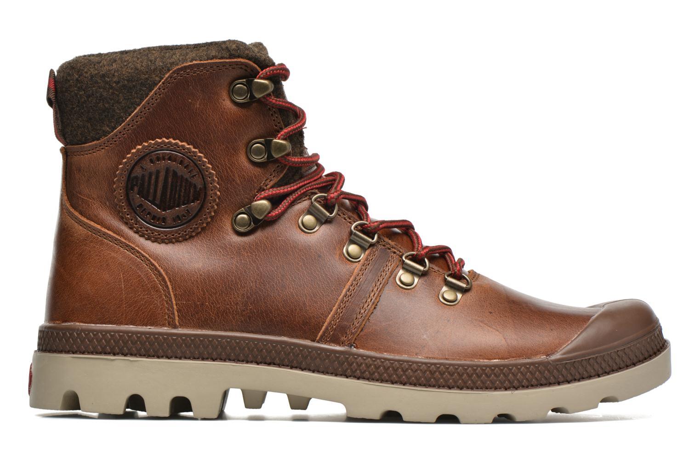 Bottines et boots Palladium Pallab Hikr H Marron vue derrière