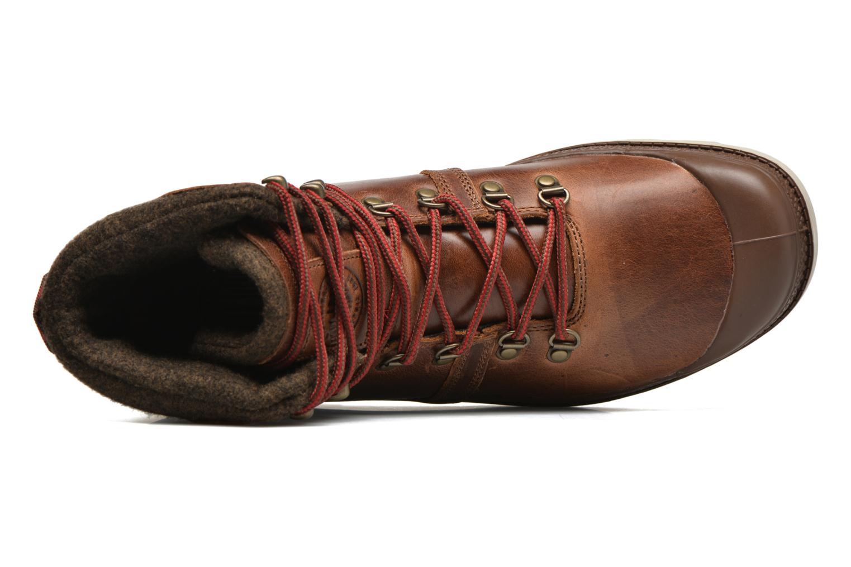 Bottines et boots Palladium Pallab Hikr H Marron vue gauche