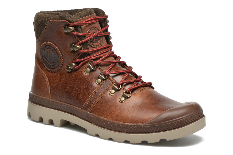 Bottines et boots Palladium Pallab Hikr H Marron vue détail/paire