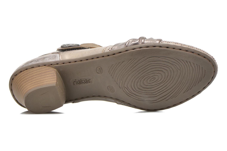 Grandes descuentos últimos zapatos Rieker Ravel 45172 (Plateado) - Zapatos de tacón Descuento