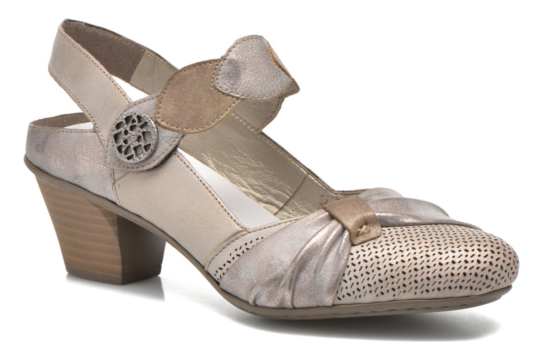 Los últimos zapatos de hombre y mujer Rieker Ravel 45172 (Plateado) - Zapatos de tacón en Más cómodo