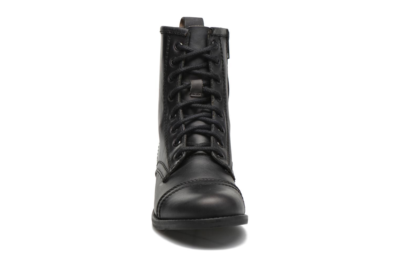 Bottines et boots Steve Madden Charrie Noir vue portées chaussures