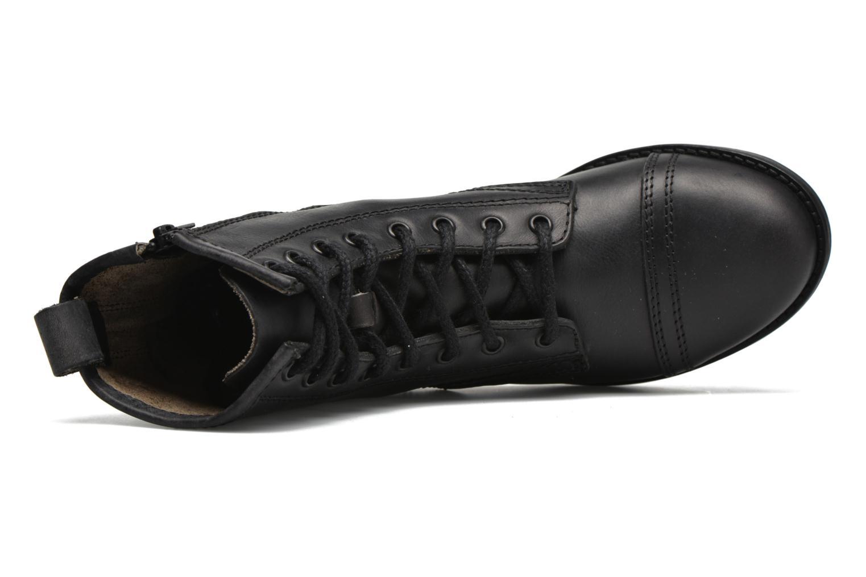 Bottines et boots Steve Madden Charrie Noir vue gauche