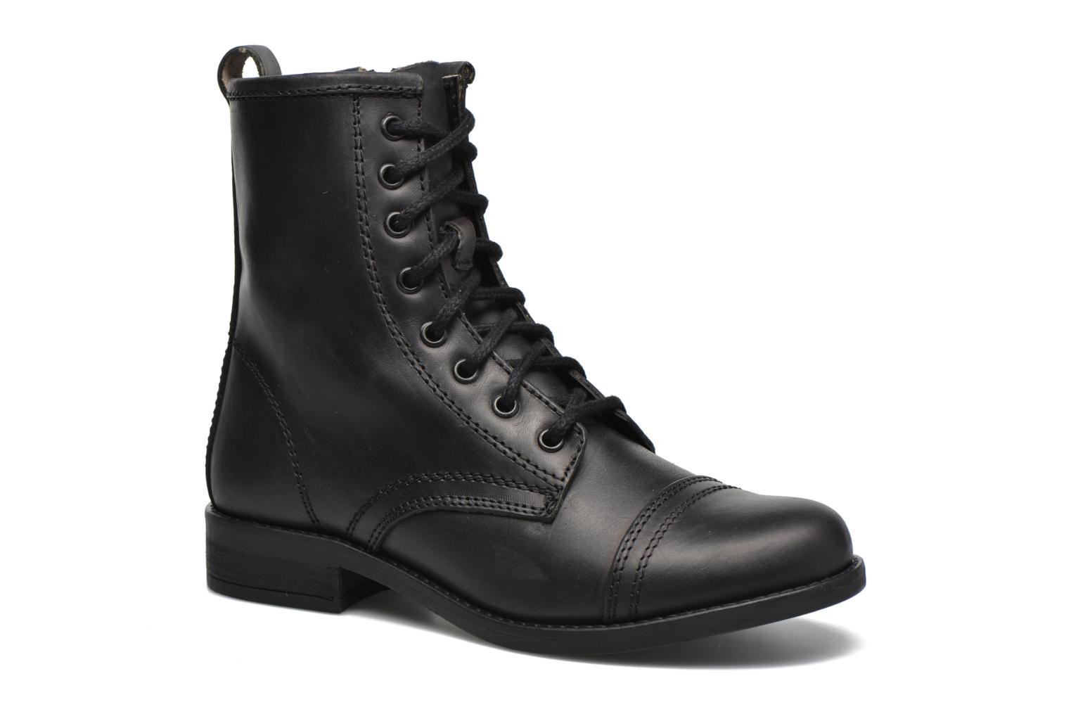 Ankle boots Steve Madden Charrie Black detailed view/ Pair view