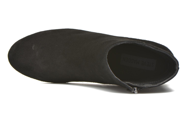 Bottines et boots Steve Madden Holster Noir vue gauche