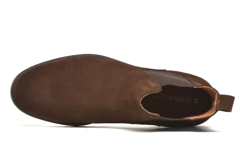 Bottines et boots Marvin&Co Ahsford Marron vue gauche
