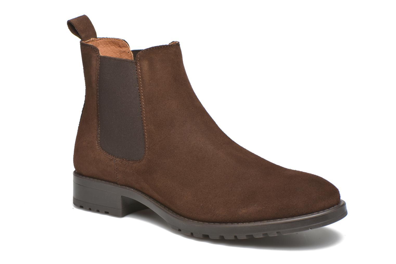 Ankelstøvler Marvin&Co Ahsford Brun detaljeret billede af skoene