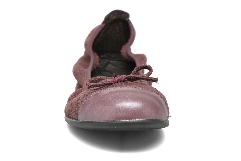 Ballerines Bopy Sarinza Rose vue portées chaussures