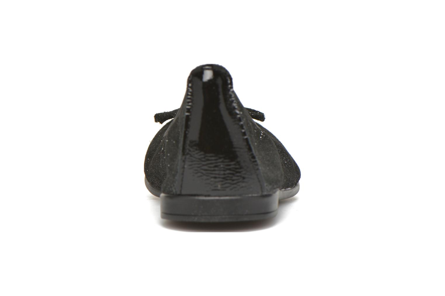Ballet pumps Bopy Sarinza Black view from the right