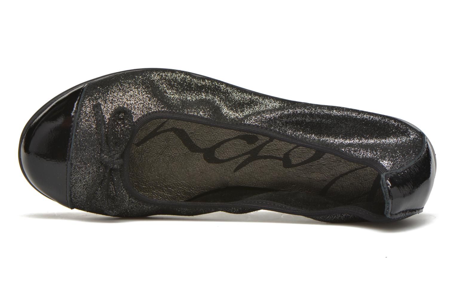 Ballet pumps Bopy Sarinza Black view from the left