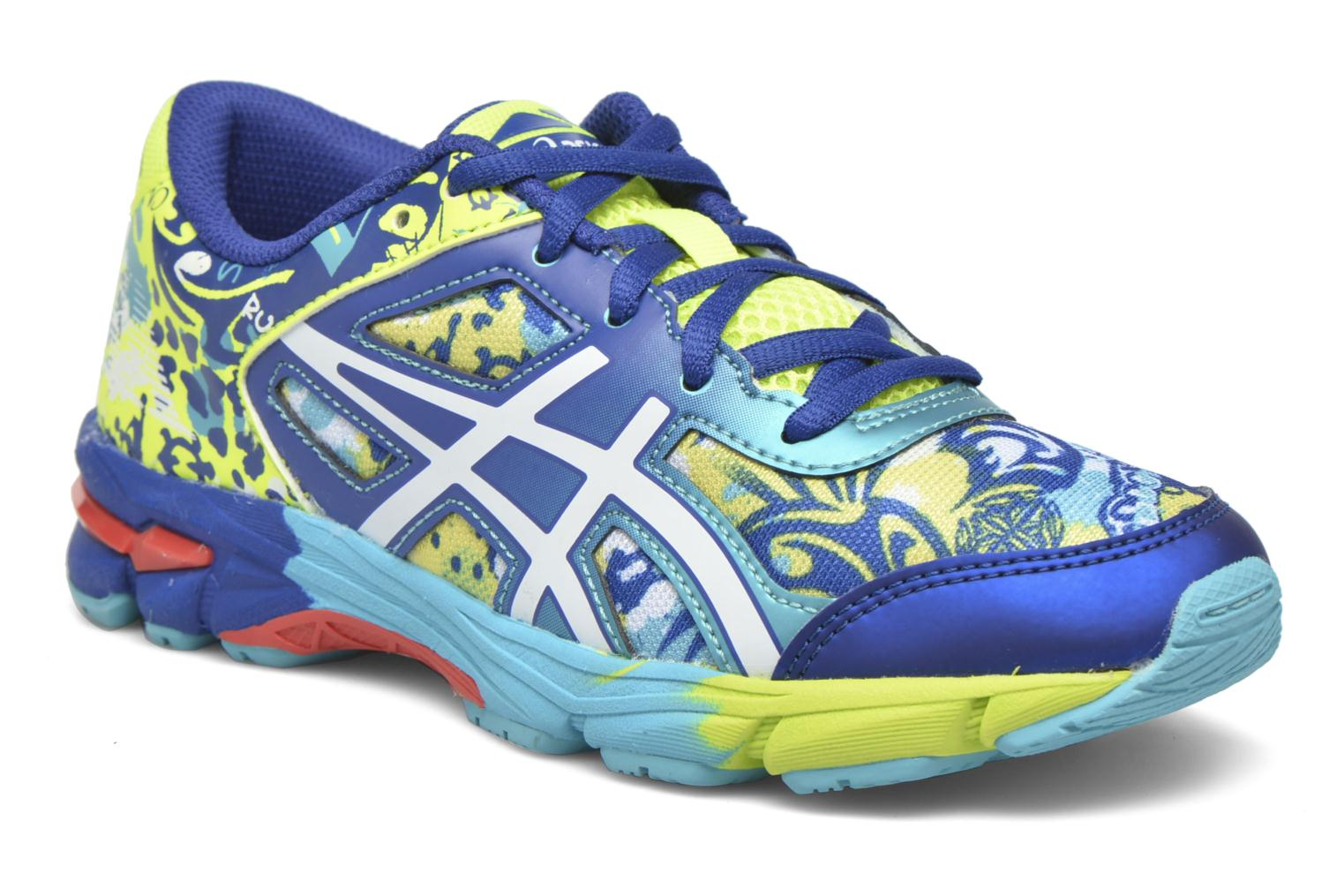 Sport shoes Asics Gel-Noosa Tri 11 Gs Blue detailed view/ Pair view