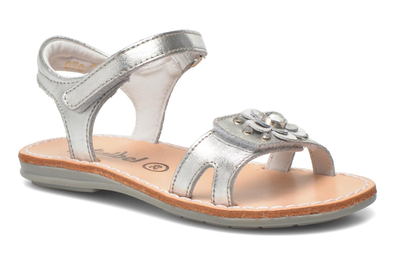 Sandales et nu-pieds Minibel Xara Argent vue détail/paire