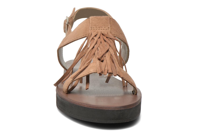 Sandales et nu-pieds Elizabeth Stuart Perrys 606 Beige vue portées chaussures