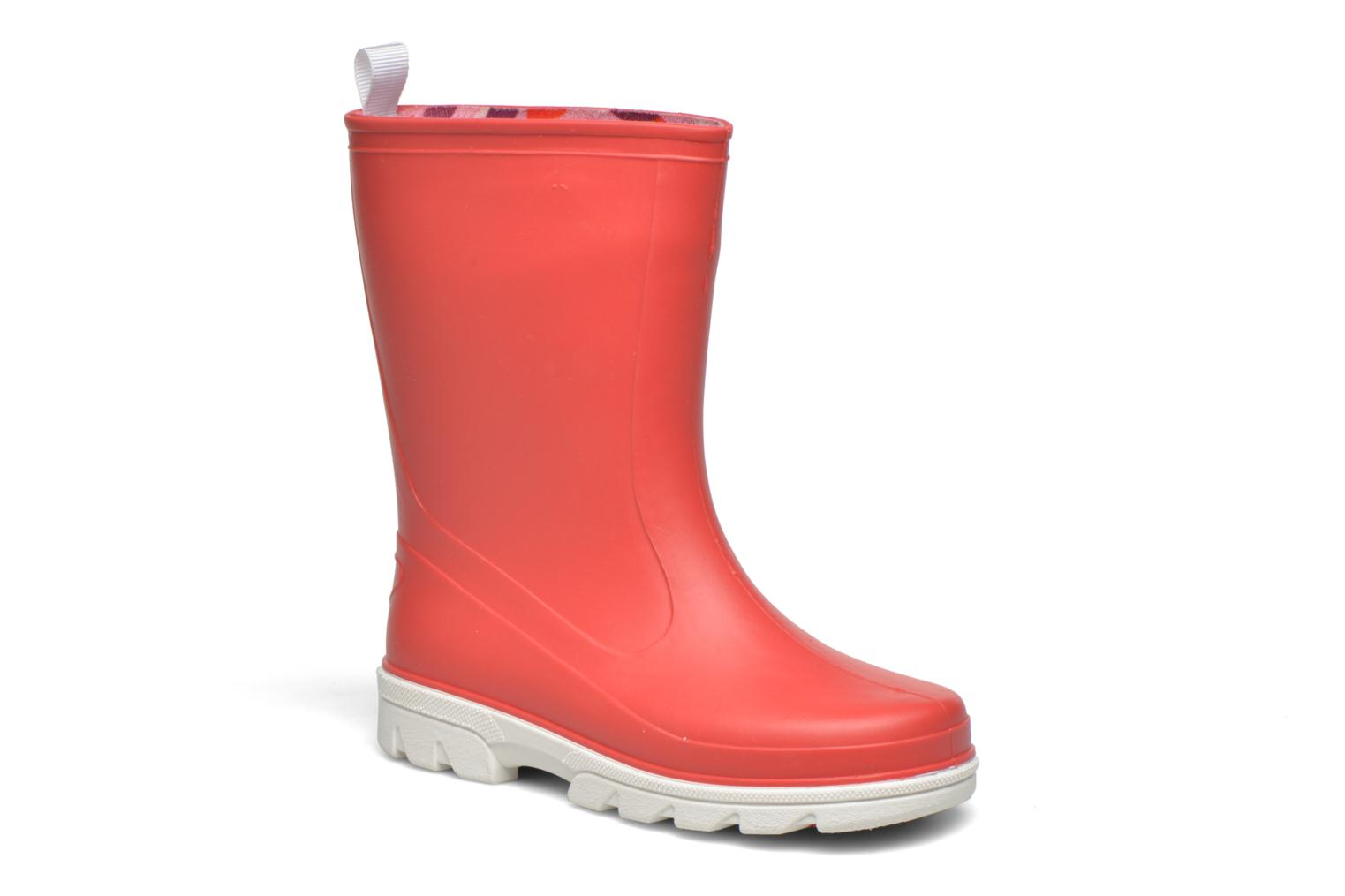 Boots & wellies SARENZA POP Virain kid Red detailed view/ Pair view