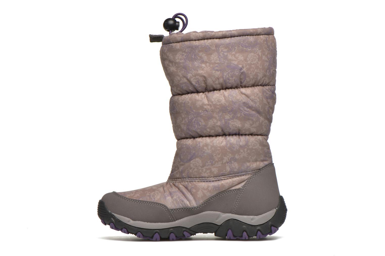 Bottines et boots Geox J Alaska B Girl ABX J5406H Gris vue face