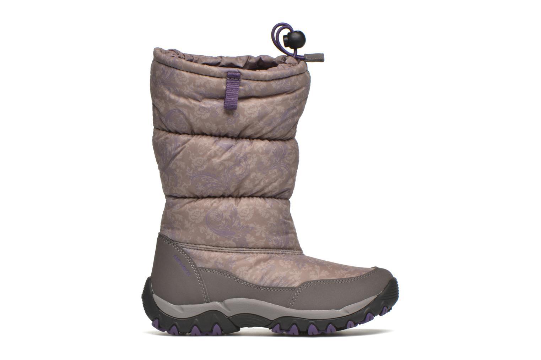 Bottines et boots Geox J Alaska B Girl ABX J5406H Gris vue derrière