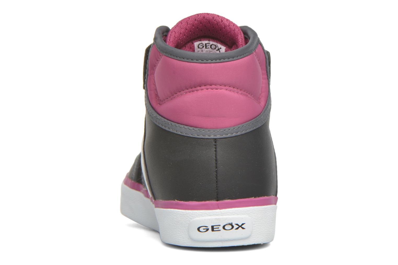 Baskets Geox JR Ciak Girl J5404A Noir vue droite