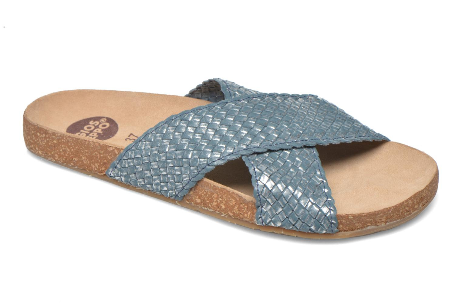 Mules & clogs Gioseppo Alejandrina Blue detailed view/ Pair view