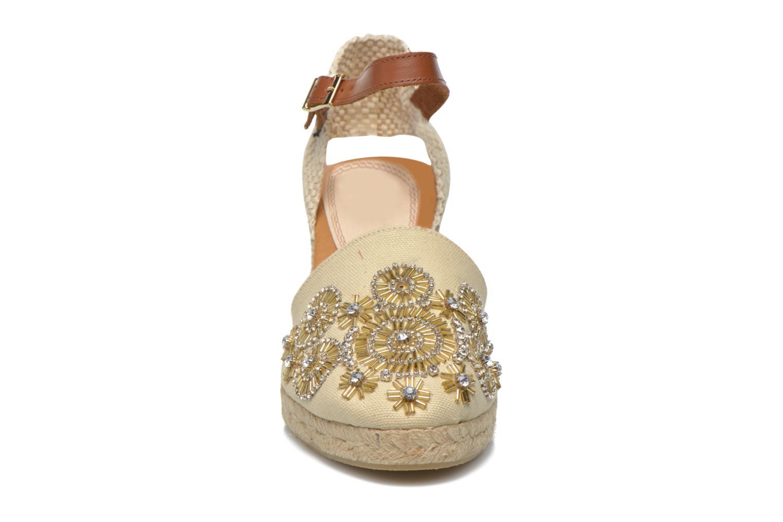 Espadrilles Gioseppo Calasparra Beige vue portées chaussures