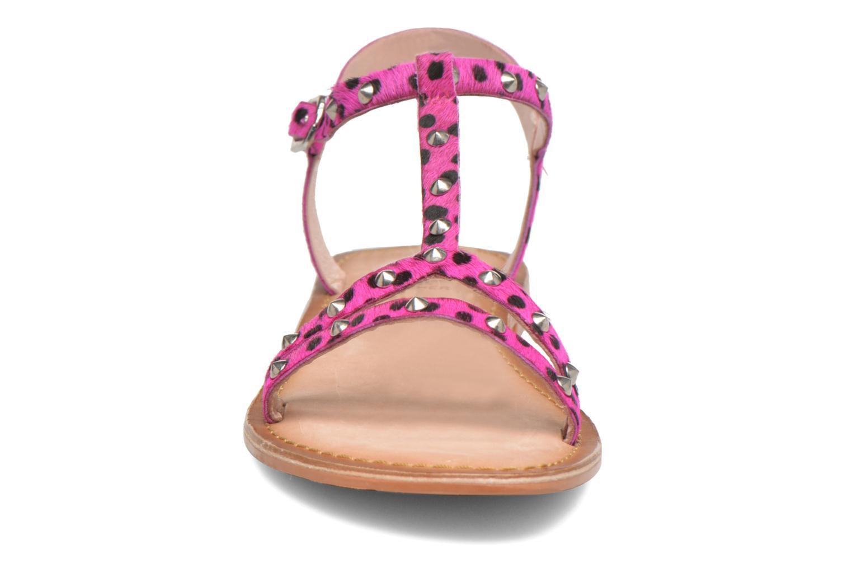 Sandali e scarpe aperte Gioseppo Drupa Rosa modello indossato