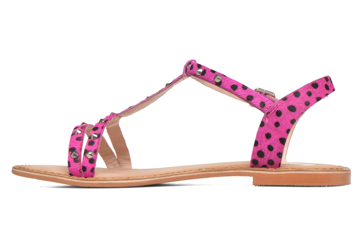 Sandals Gioseppo Drupa Pink front view