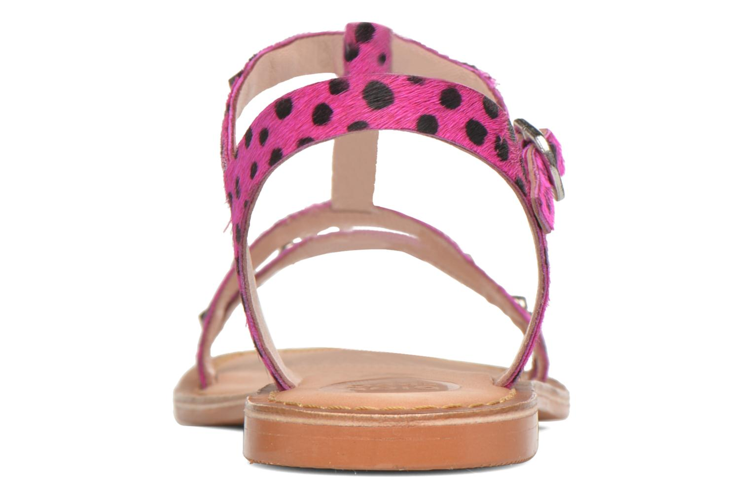 Sandals Gioseppo Drupa Pink view from the right
