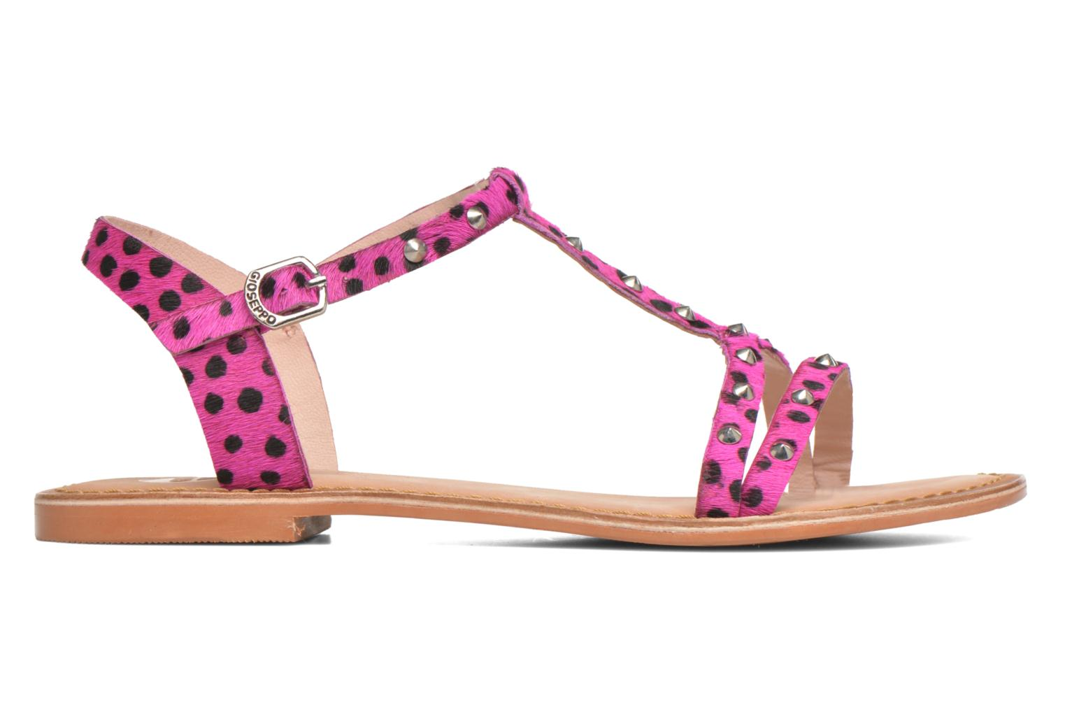 Sandals Gioseppo Drupa Pink back view