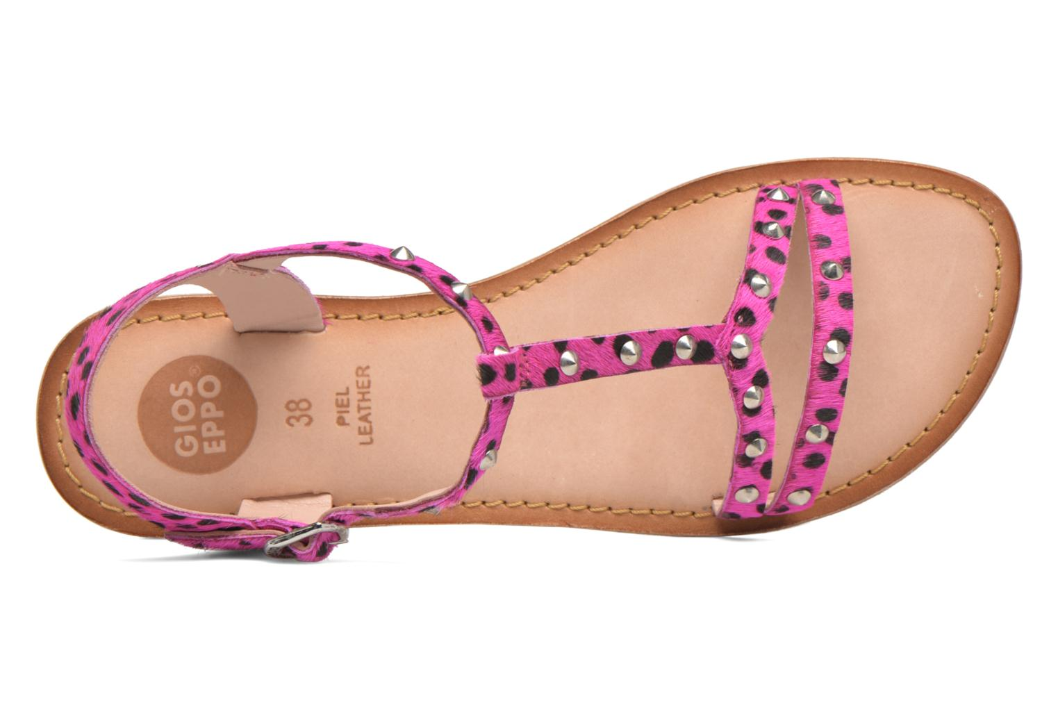 Sandals Gioseppo Drupa Pink view from the left