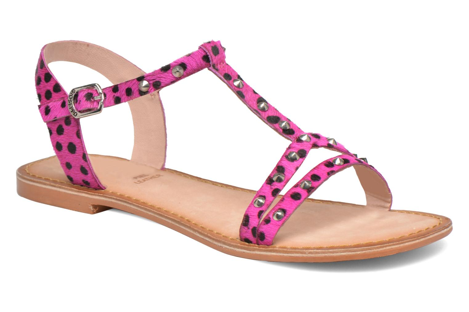 Sandals Gioseppo Drupa Pink detailed view/ Pair view