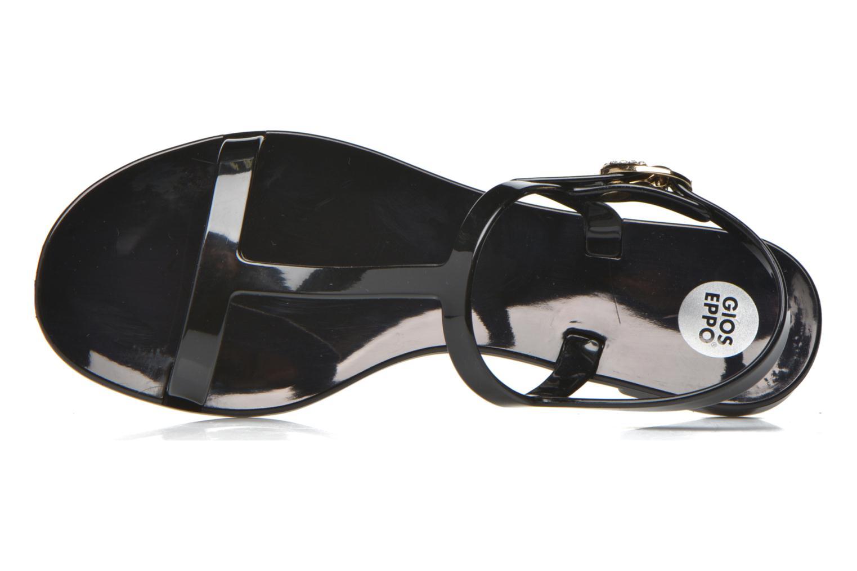 Sandales et nu-pieds Gioseppo Eslora Noir vue gauche