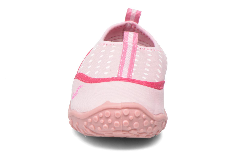Baskets Gioseppo Mesina Rose vue portées chaussures