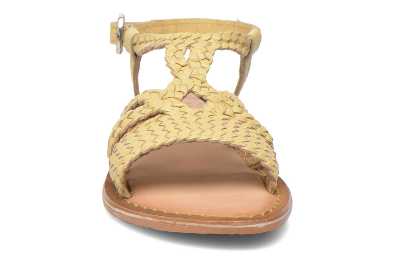 Sandales et nu-pieds Gioseppo Jacinthe Beige vue portées chaussures