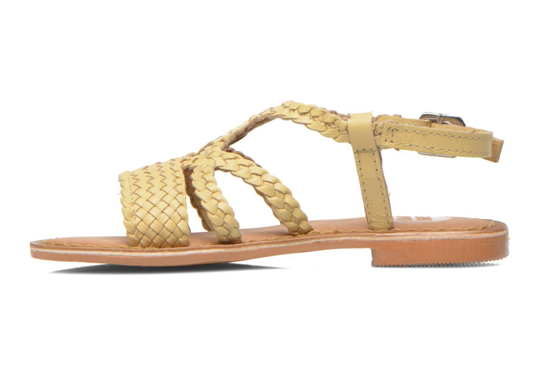 Sandali e scarpe aperte Gioseppo Jacinthe Beige immagine frontale