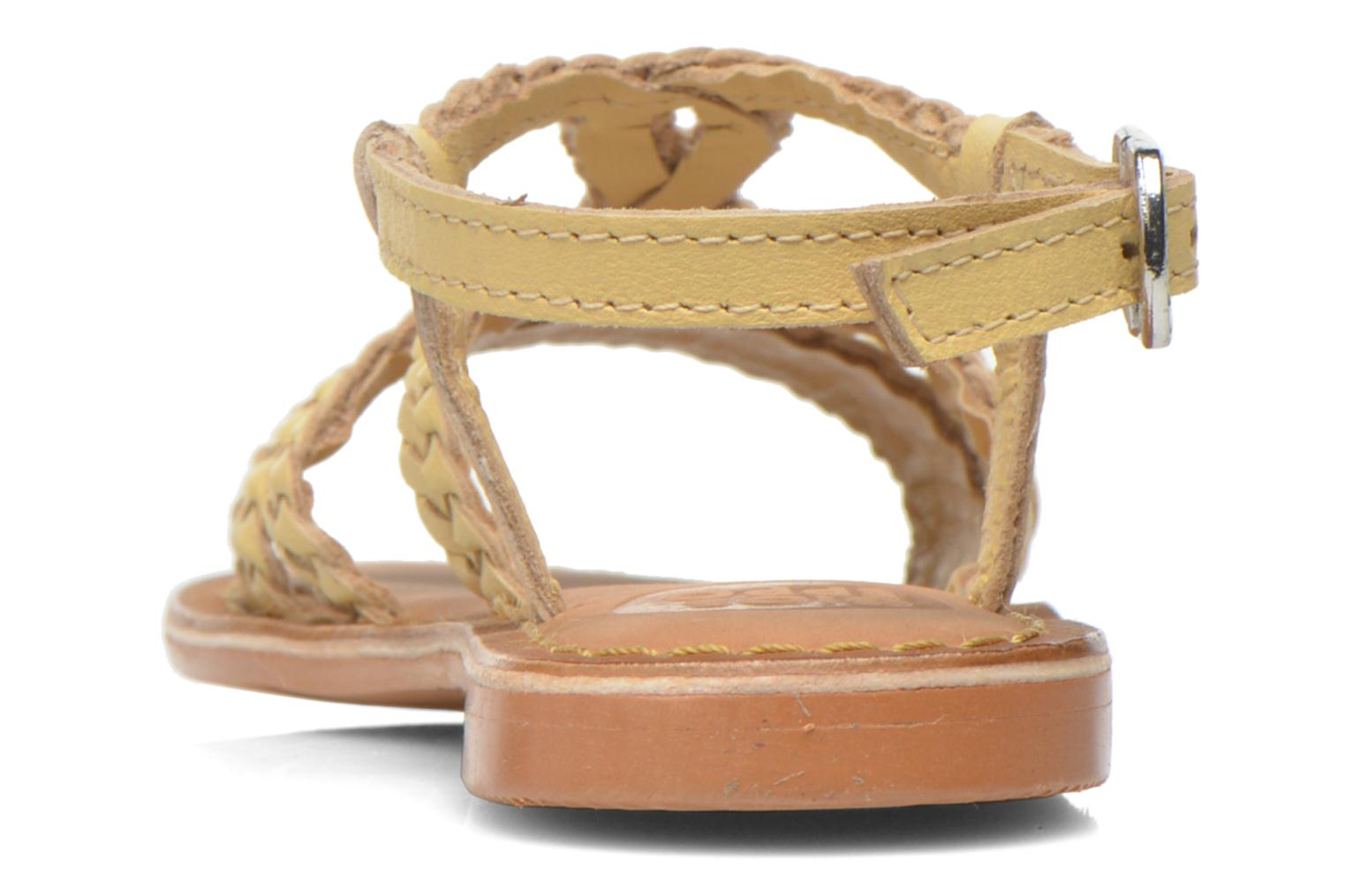 Sandals Gioseppo Jacinthe Beige view from the right