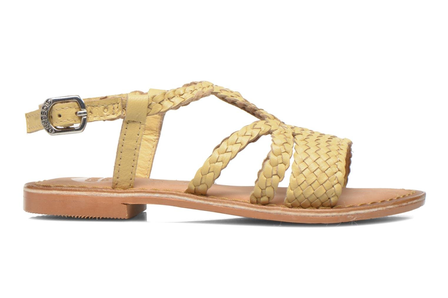 Sandals Gioseppo Jacinthe Beige back view