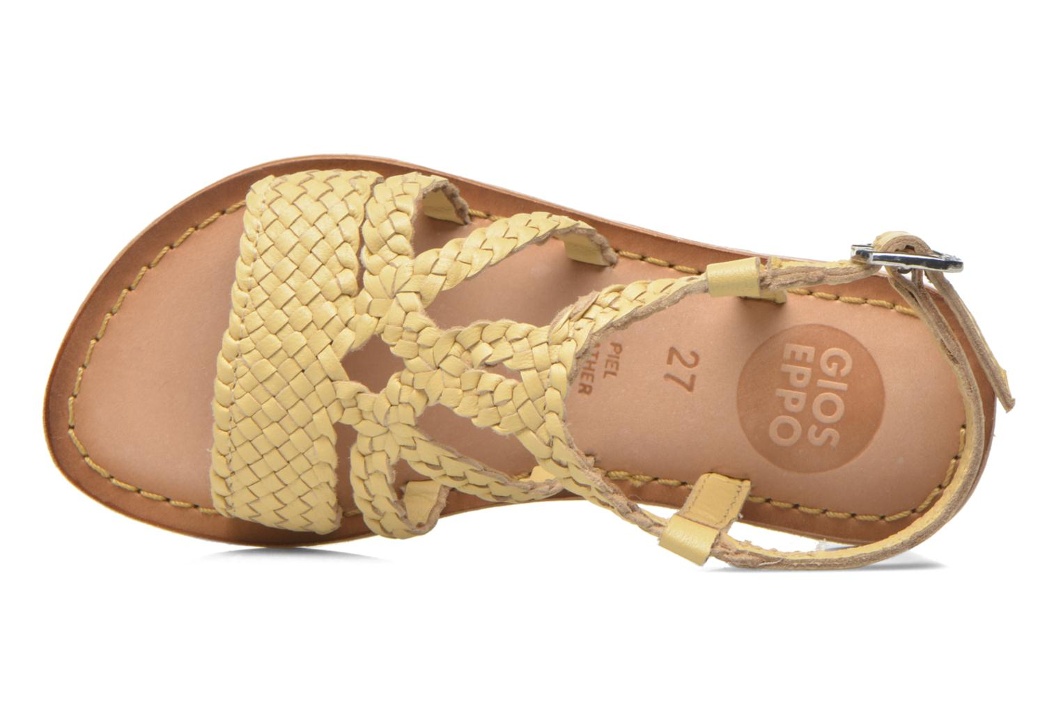 Sandals Gioseppo Jacinthe Beige view from the left