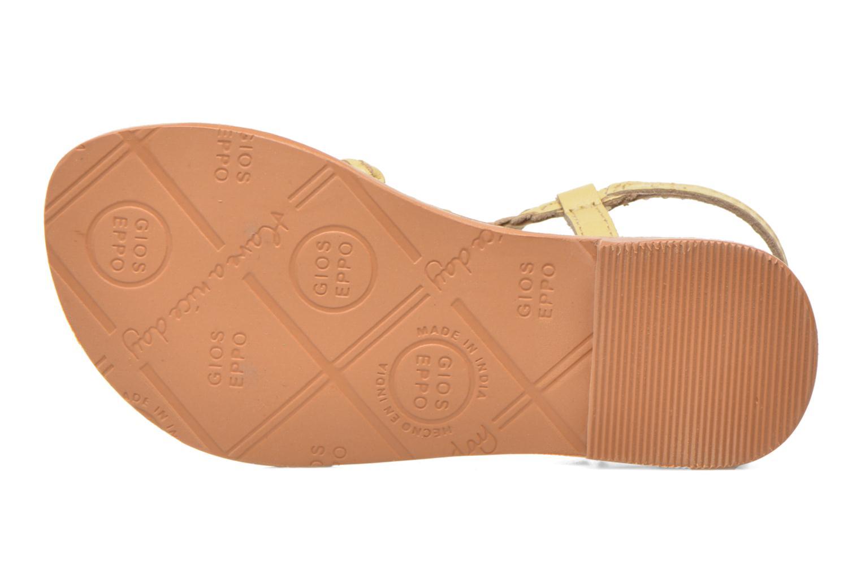 Sandales et nu-pieds Gioseppo Jacinthe Beige vue haut
