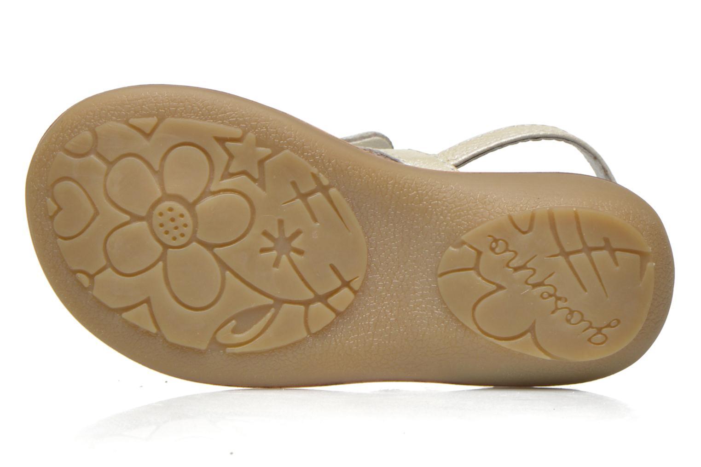 Sandali e scarpe aperte Gioseppo Regio Bianco immagine dall'alto