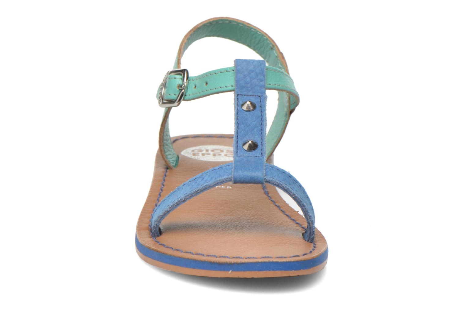 Sandals Gioseppo Rose Blue model view