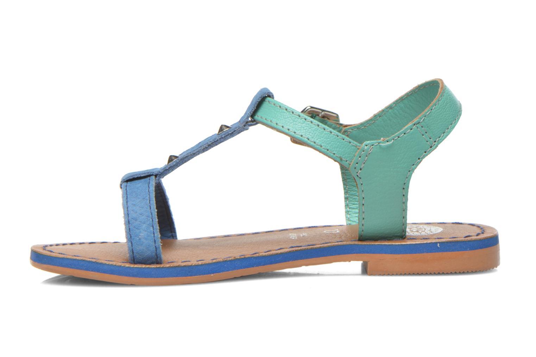 Sandali e scarpe aperte Gioseppo Rose Azzurro immagine frontale
