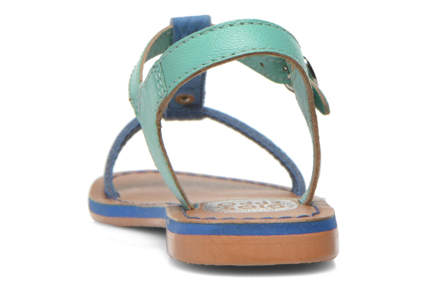 Sandals Gioseppo Rose Blue view from the right