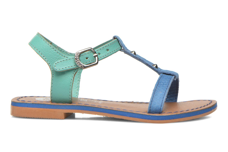 Sandali e scarpe aperte Gioseppo Rose Azzurro immagine posteriore