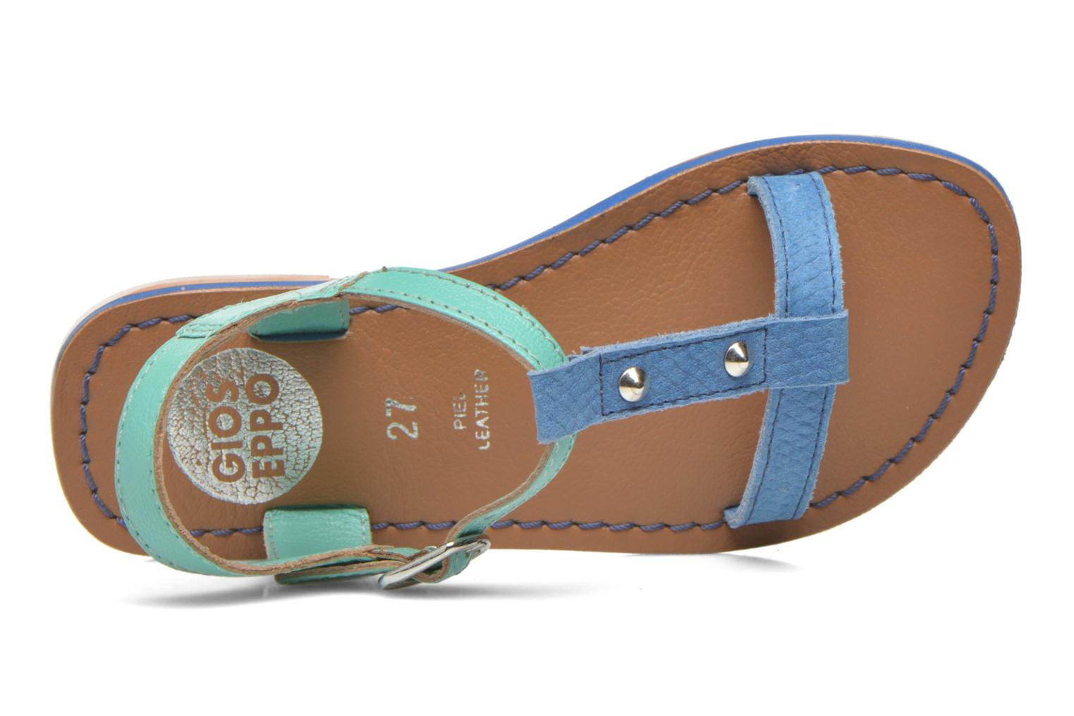 Sandals Gioseppo Rose Blue view from the left